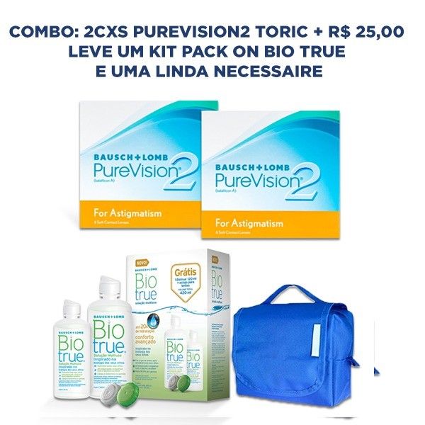 Combo Purevision 2 Toric