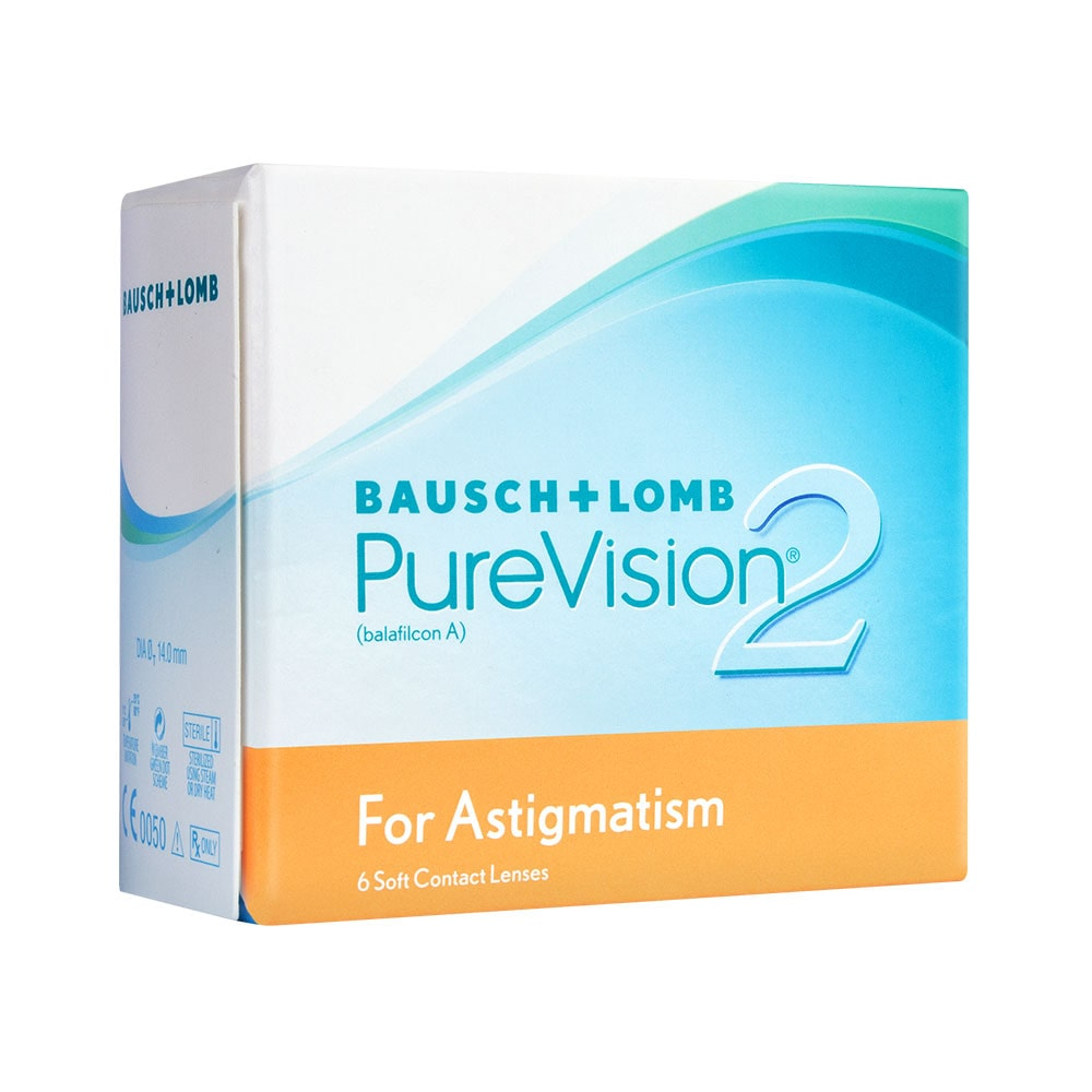 Combo: 2 cxs Purevision 2 Toric + Biotrue PackOn + Necessaire