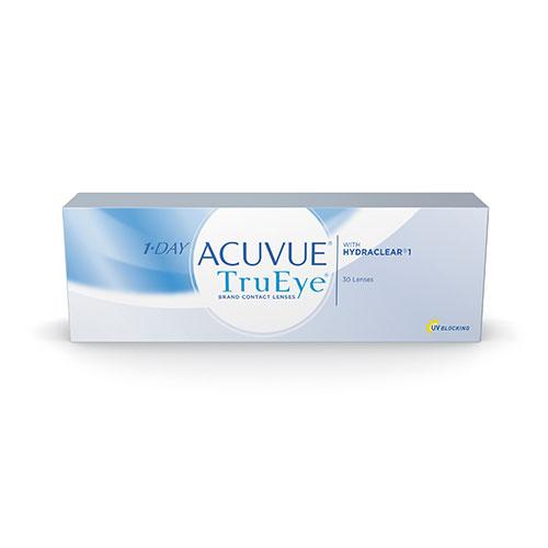 Acuvue 1 Day TrueEye com Hydraclear Disponível em Grau Esférico