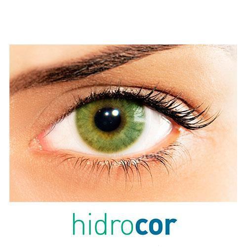 Kit de lentes de contato Hidrocor Âmbar