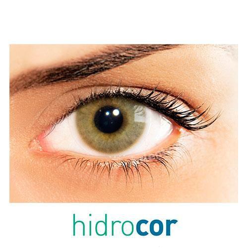 Kit de lentes de contato Hidrocor Ocre