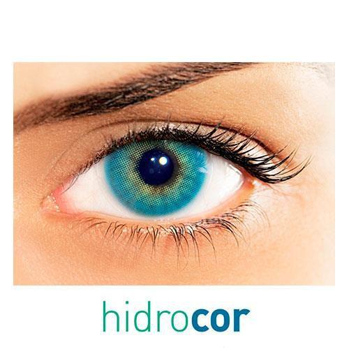 Kit de lentes de contato Hidrocor Topázio