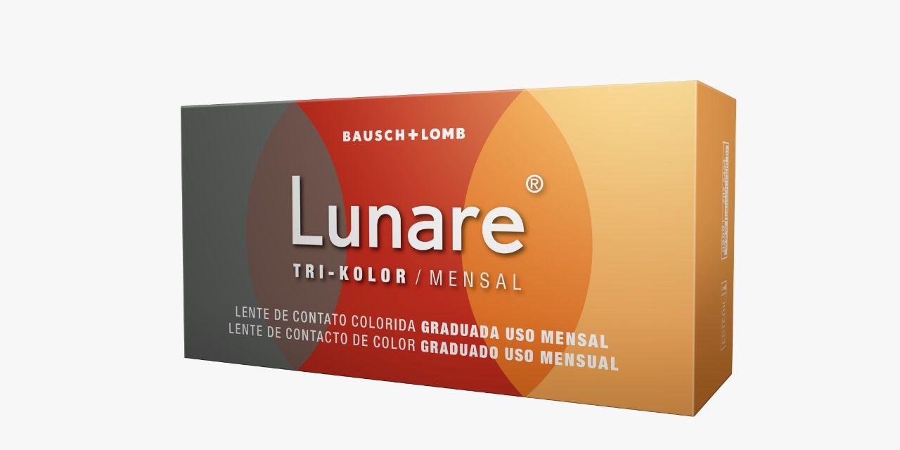 Lente de Contato Colorida Lunare Mensal ( Com Grau | 1 unidade )