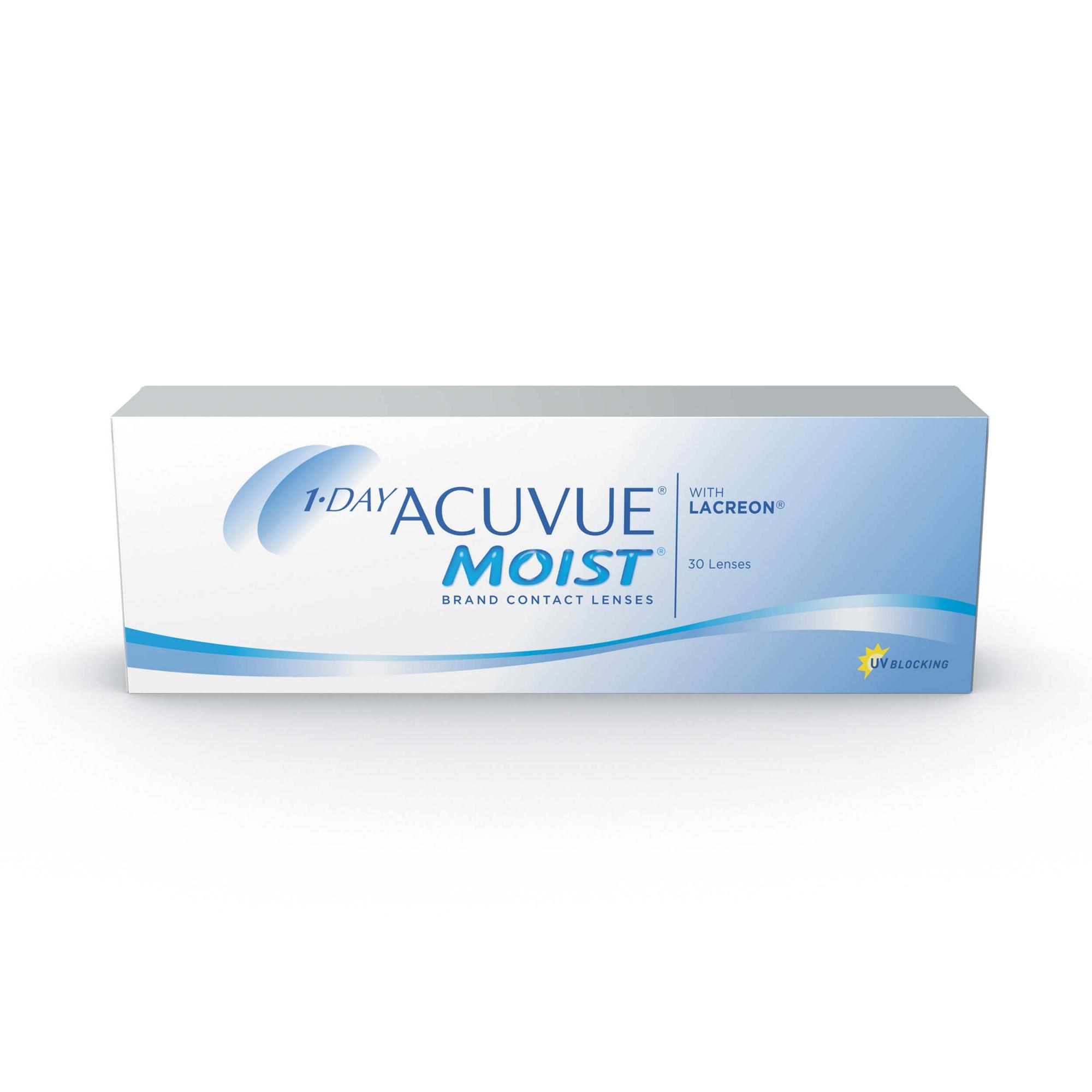 Lentes de Contato 1-day Acuvue Moist