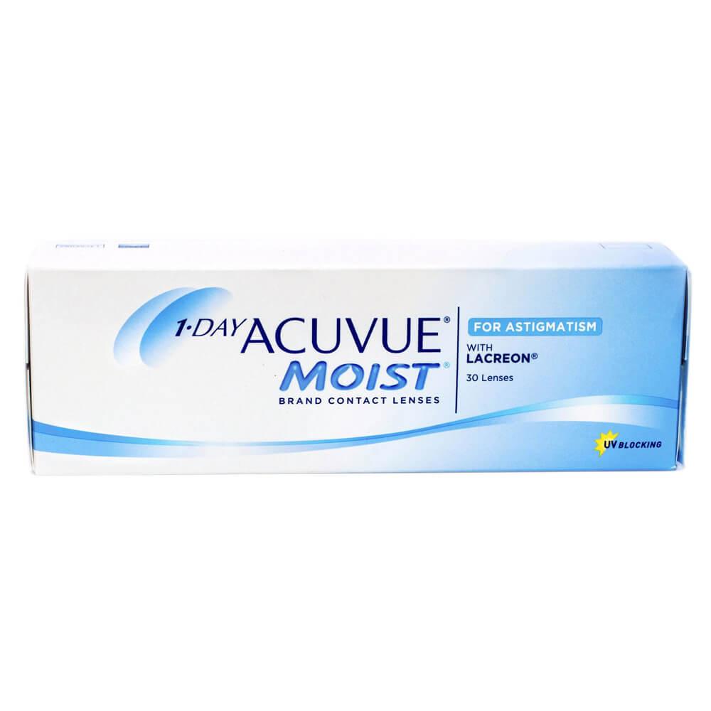 Lentes de Contato 1-day Acuvue Moist para Astigmatismo