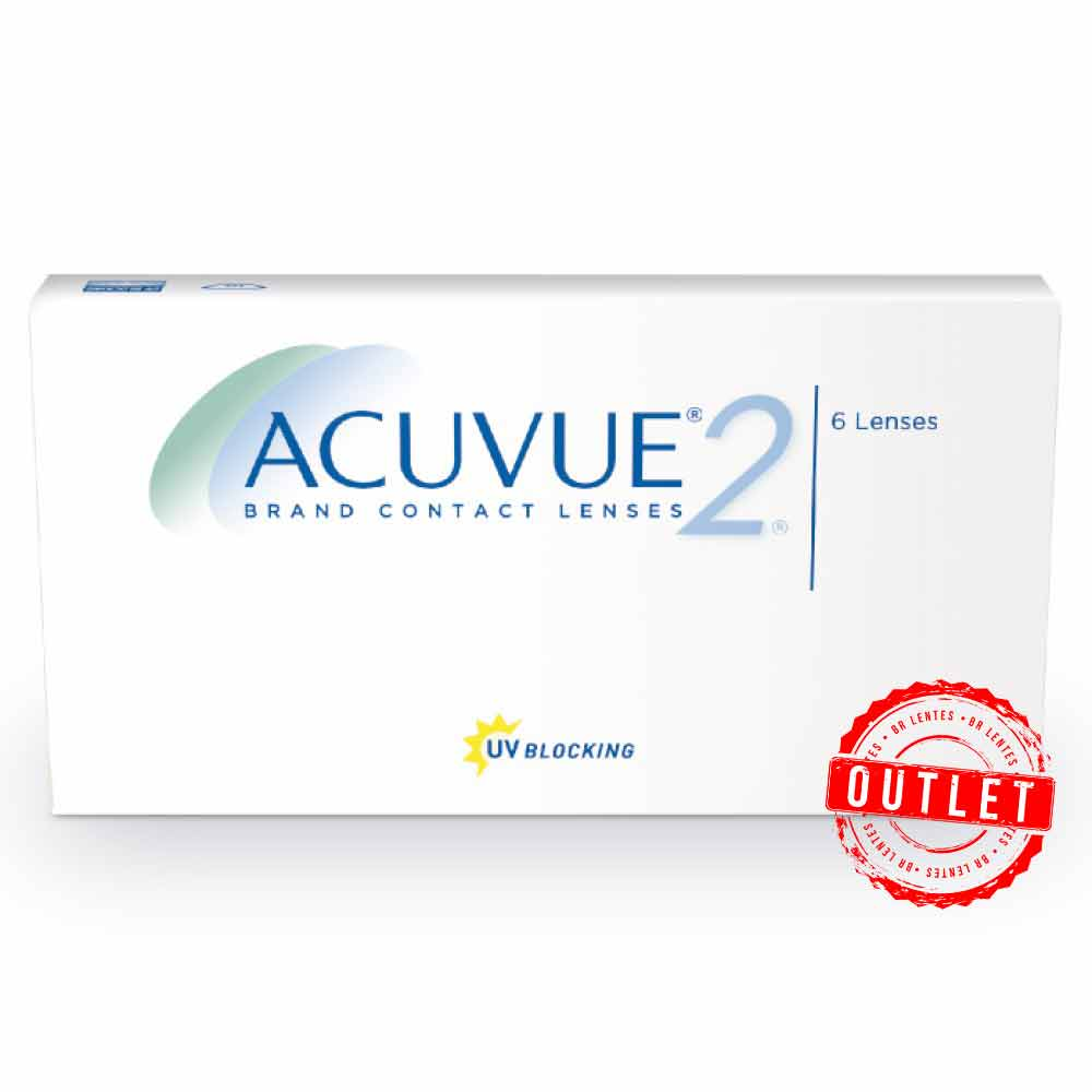 Lentes de Contato Acuvue2 - Outlet