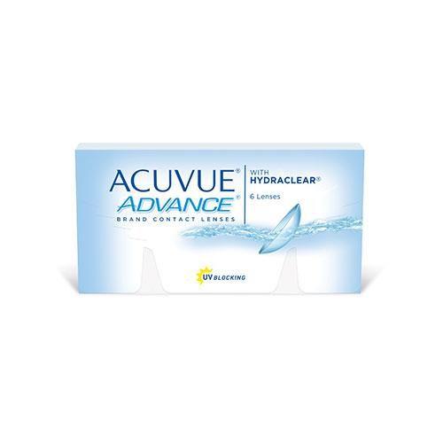 Lentes de contato Acuvue Advance