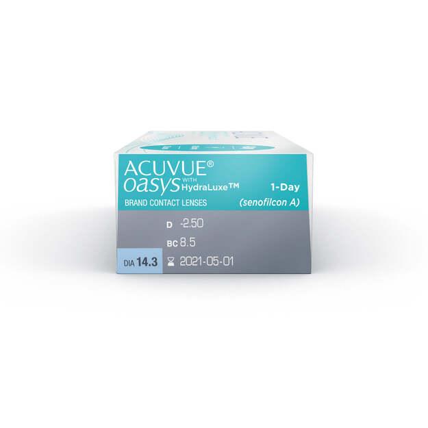 Lentes de Contato Acuvue Oasys 1-Day Com Hydraclear