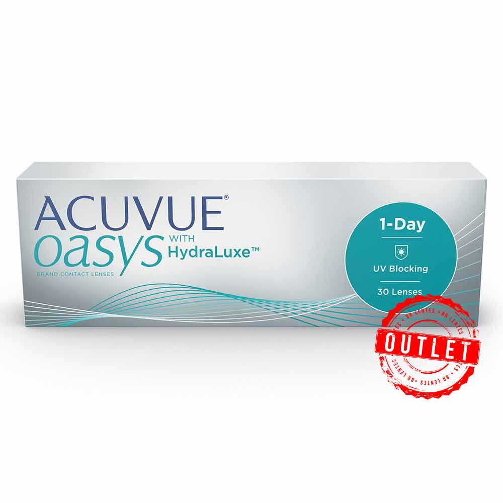 Lentes de Contato Acuvue Oasys 1-Day Com Hydraclear -outlet