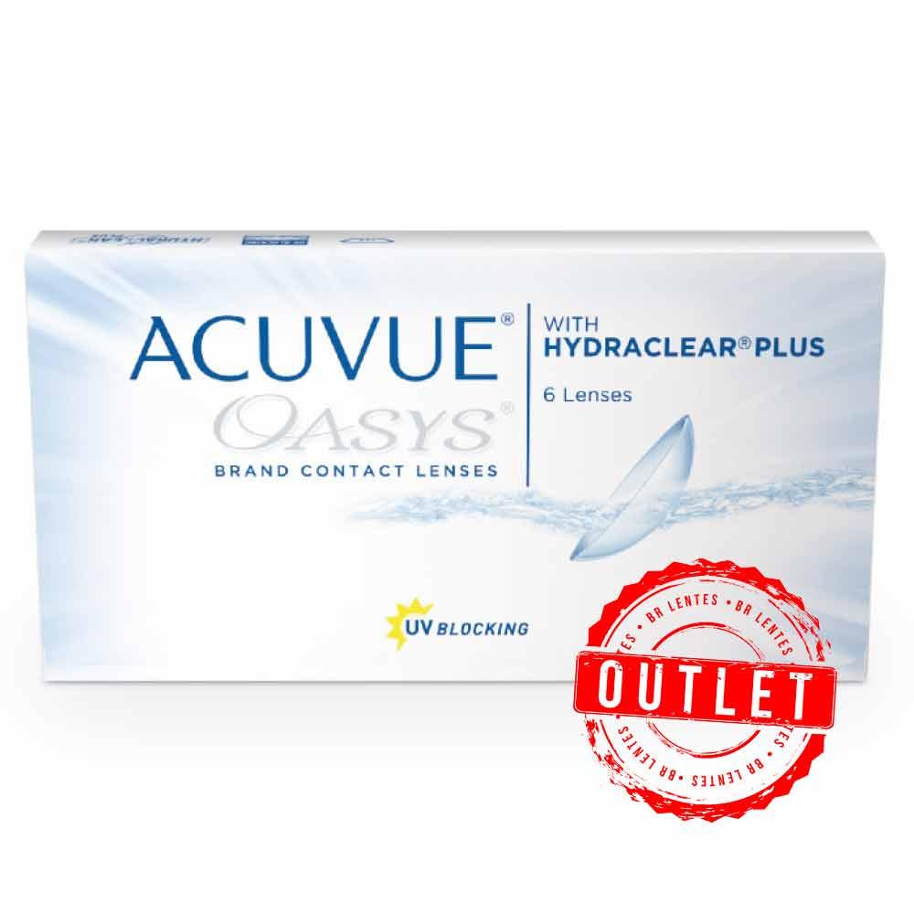 Lentes de Contato Acuvue Oasys Com Hydraclear Plus -Outlet