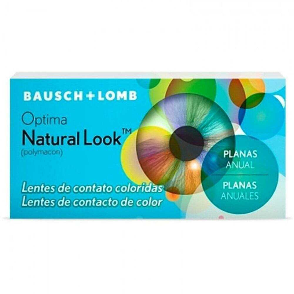 Lentes de Contato Colorida  Natural Look - Sem Grau