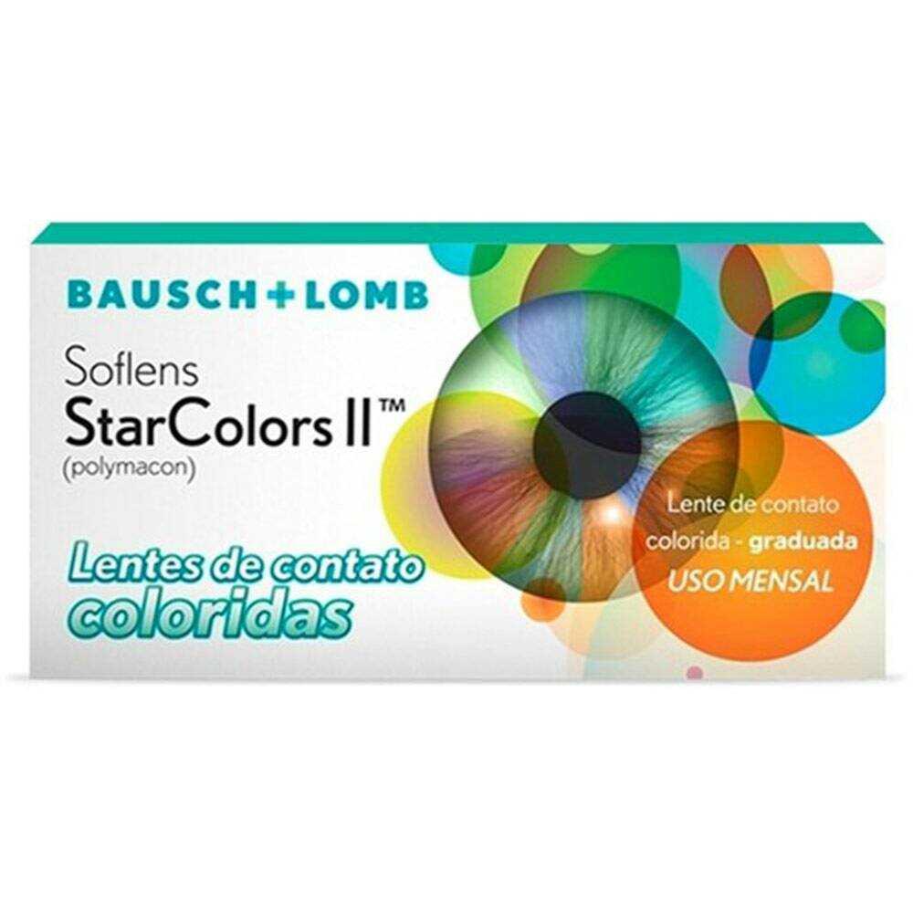 Lentes StarColorsll Com Grau (1 unid.)