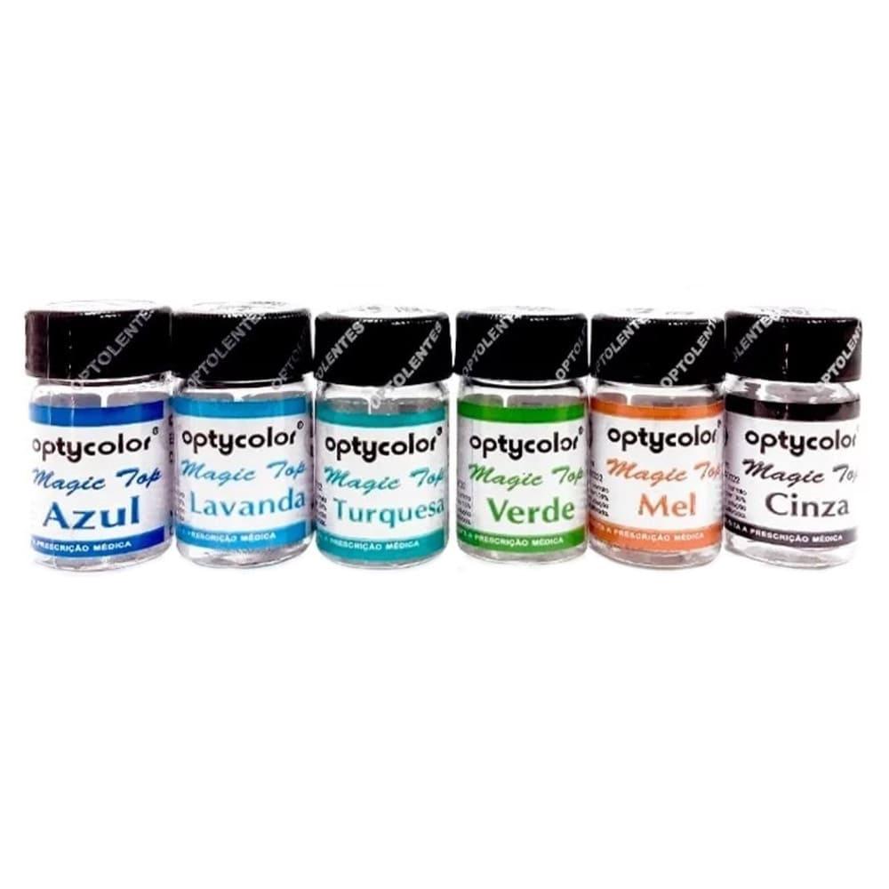 Lentes de Contato Coloridas Magic Top( 1Unidade)