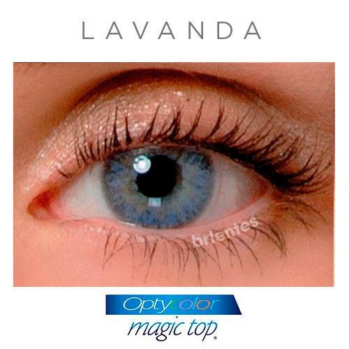 Lentes de Contato Coloridas Magic Top (Graus Altos)