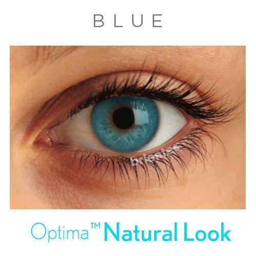 Lentes de Contato Colorida Natural Look - Com Grau | 01 unidade