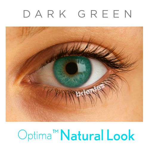 Lente Colorida Optima Natural Look - Sem Grau