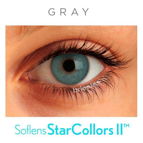 Lentes de Contato Coloridas Soflens StarColors Com Grau (1 unid.)