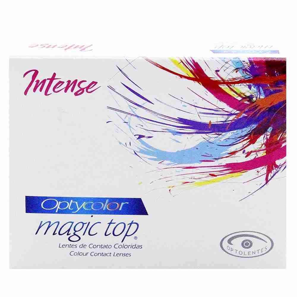 Lentes de Contato  Magic Top Intense Com Grau