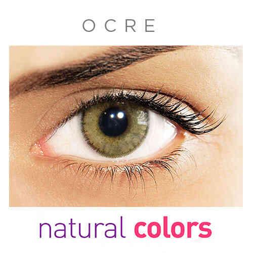 Lentes de Contato Natural Colors Anual Kit Sem Grau - Outlet