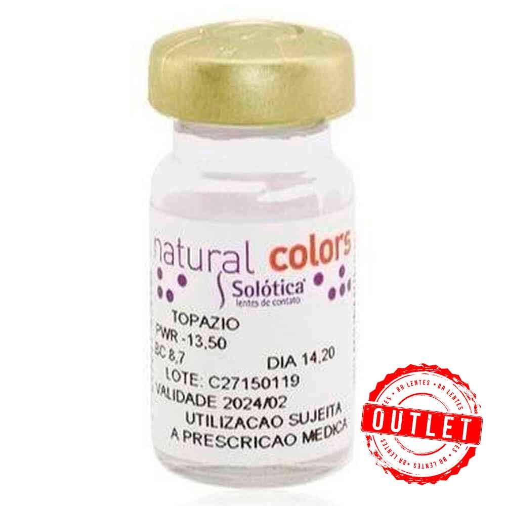 Lentes de Contato  Natural Colors Toric -  Astigmatismo (  01 unidade) - Outlet