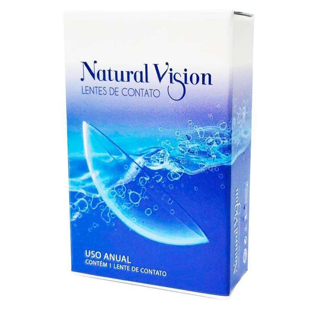 Lentes de Contato Natural Vision Anual - 1 unid.