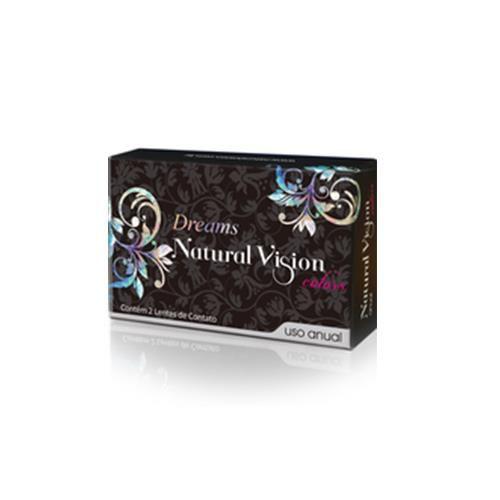 Lentes de Contato Natural Vision Dreams Anual