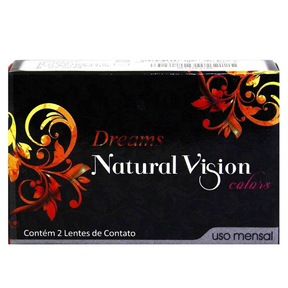Lentes de Contato Natural Vision Dreams Mensal