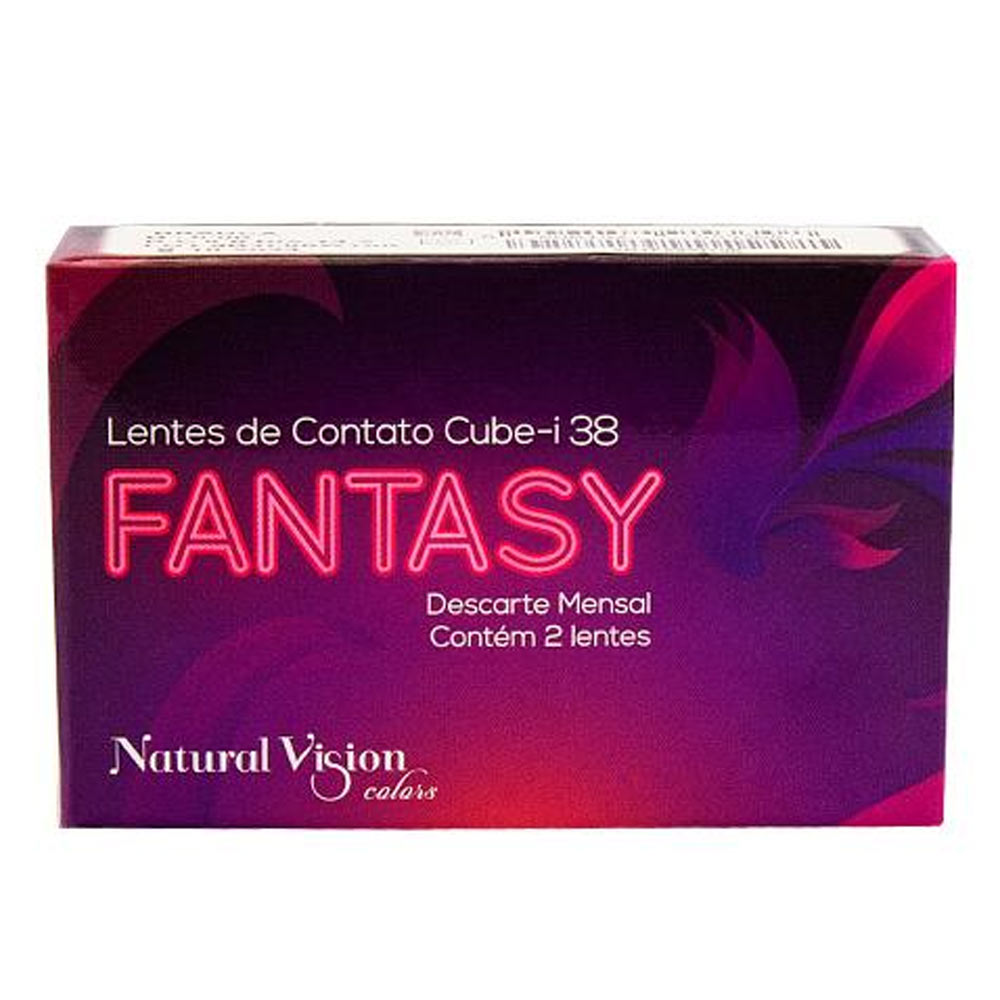 Lentes de Contato Natural Vision Fantasy