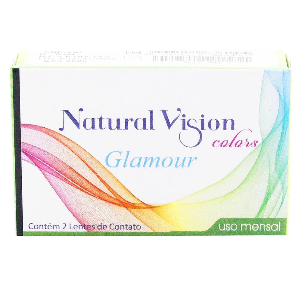 Lentes de Contato Natural Vision Glamour Mensal