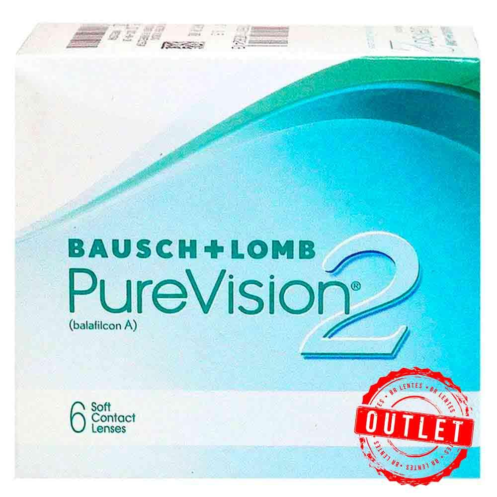 Lentes de contato PureVision 2  - Outlet