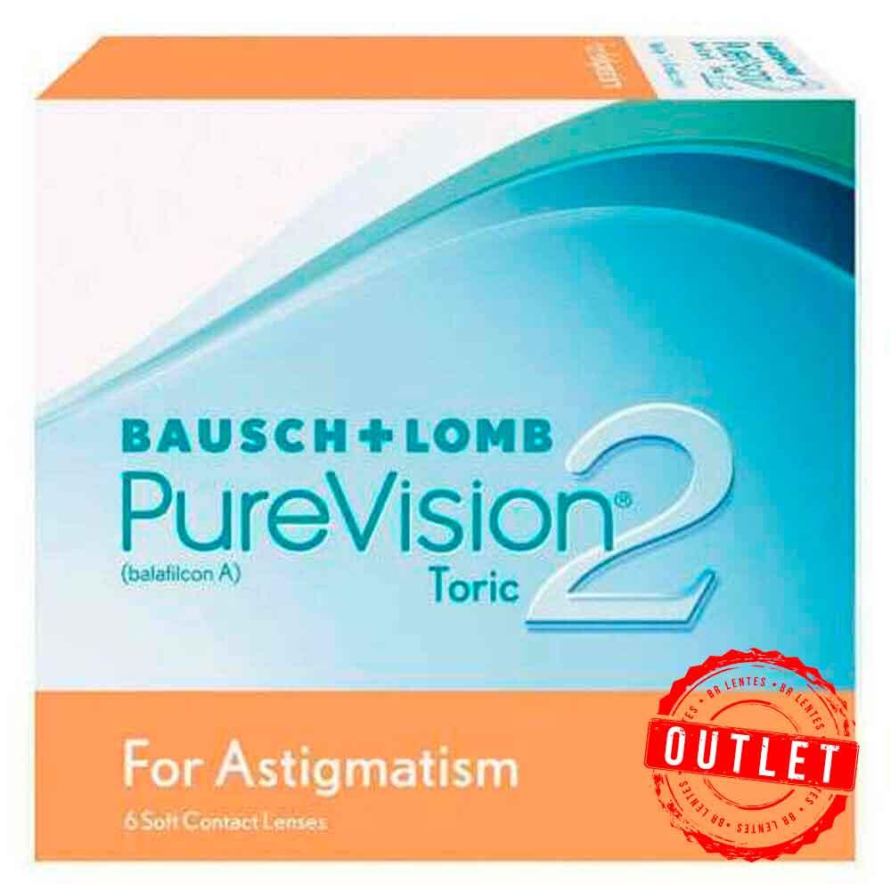 Lentes de Contato Purevision 2 Toric - Outlet
