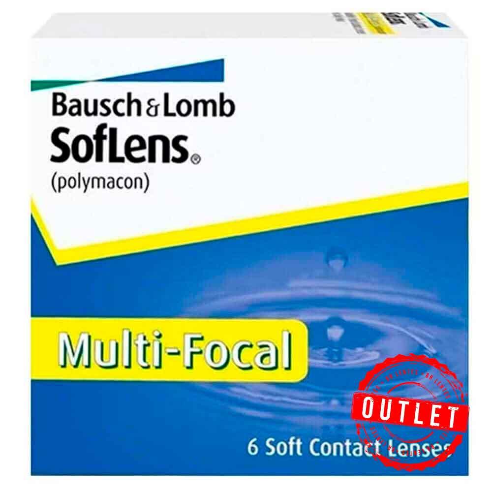 Lentes de contato Soflens Multifocal - Outlet