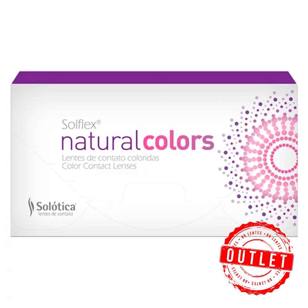 Lentes de Contato Solflex Natural Colors  - Outlet