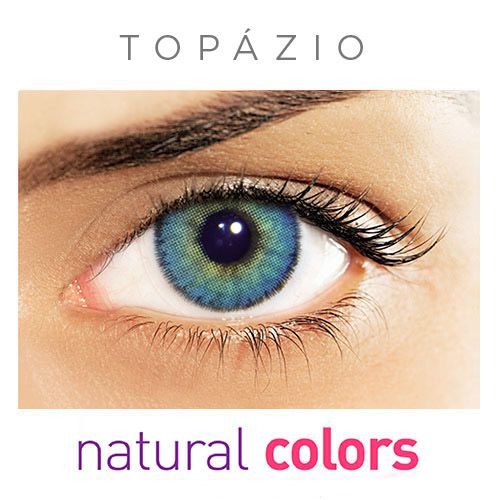 Lentes de contato Solflex Natural Colors  com grau