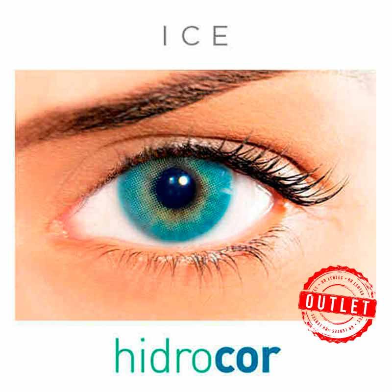 Lentes de Contato Solótica Hidrocor ice ( 1 unidade ) -Outlet