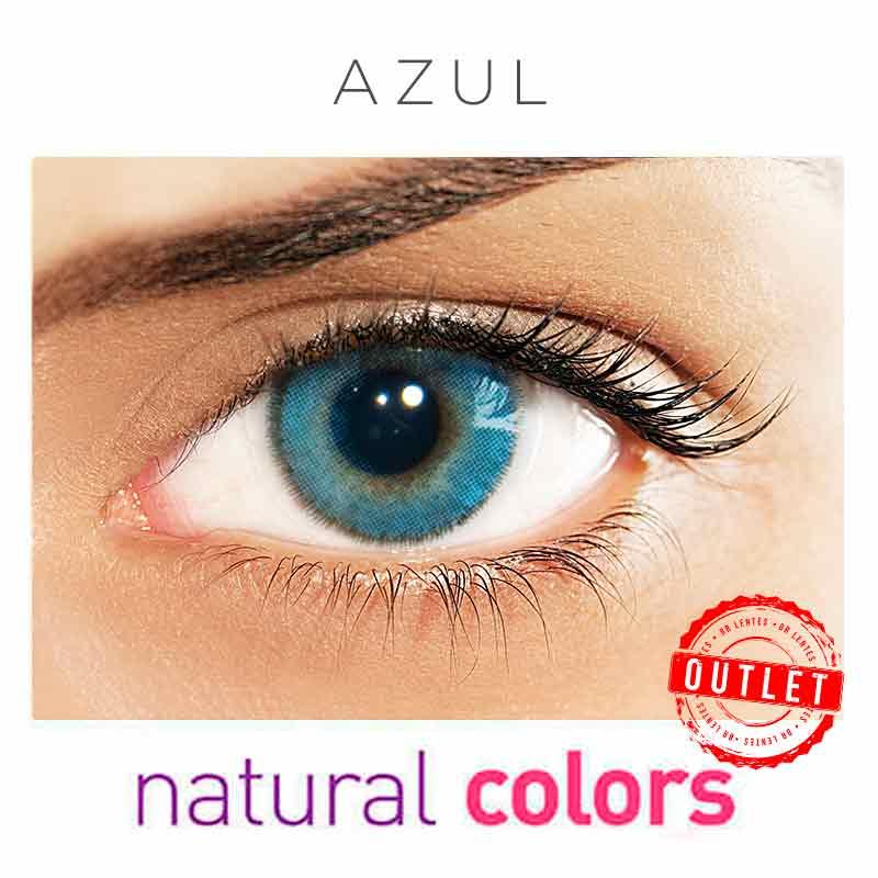 Lentes de Contato Solótica Natural Colors  Azul (Com Grau | 01 unidade) -Outlet