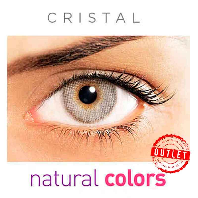 Lentes de Contato Solótica Natural Colors  Cristal (Com Grau | 01 unidade) -Outlet