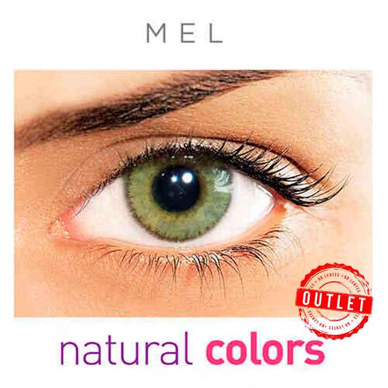 Lentes de Contato Solótica Natural Colors  Mel (Com Grau   01 unidade) -Outlet