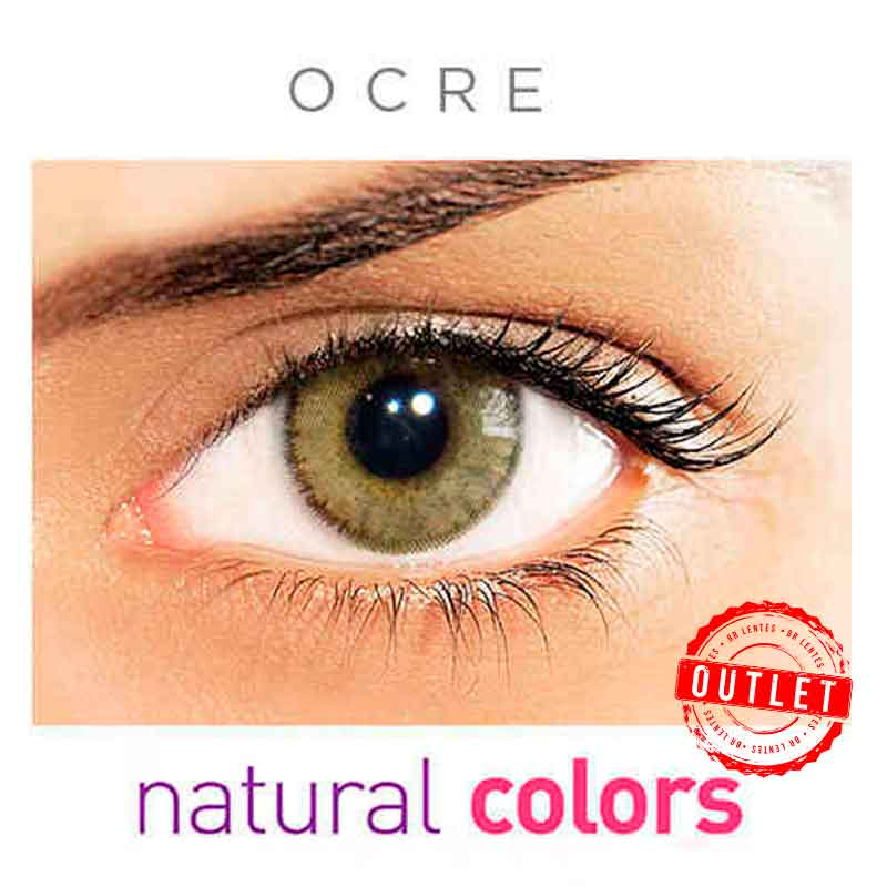 Lentes de Contato Solótica Natural Colors Ocre (Com Grau   01 unidade) -Outlet