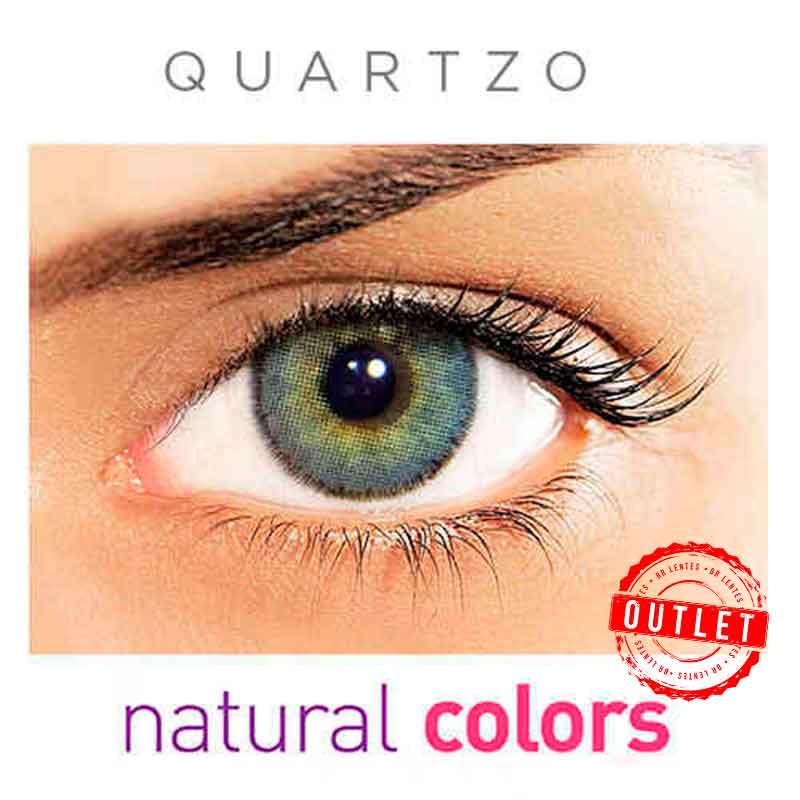 Lentes de Contato Solótica Natural Colors Quartzo (Com Grau | 01 unidade) -Outlet
