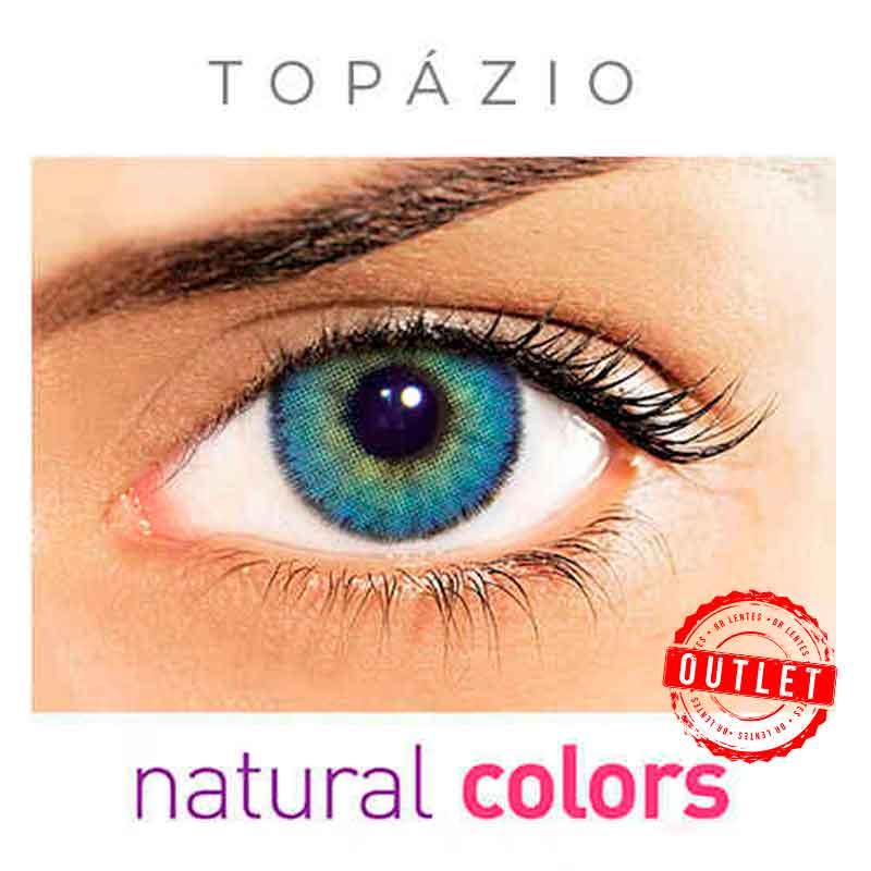 Lentes de Contato Solótica Natural Colors Topázio (Com Grau | 01 unidade) -Outlet