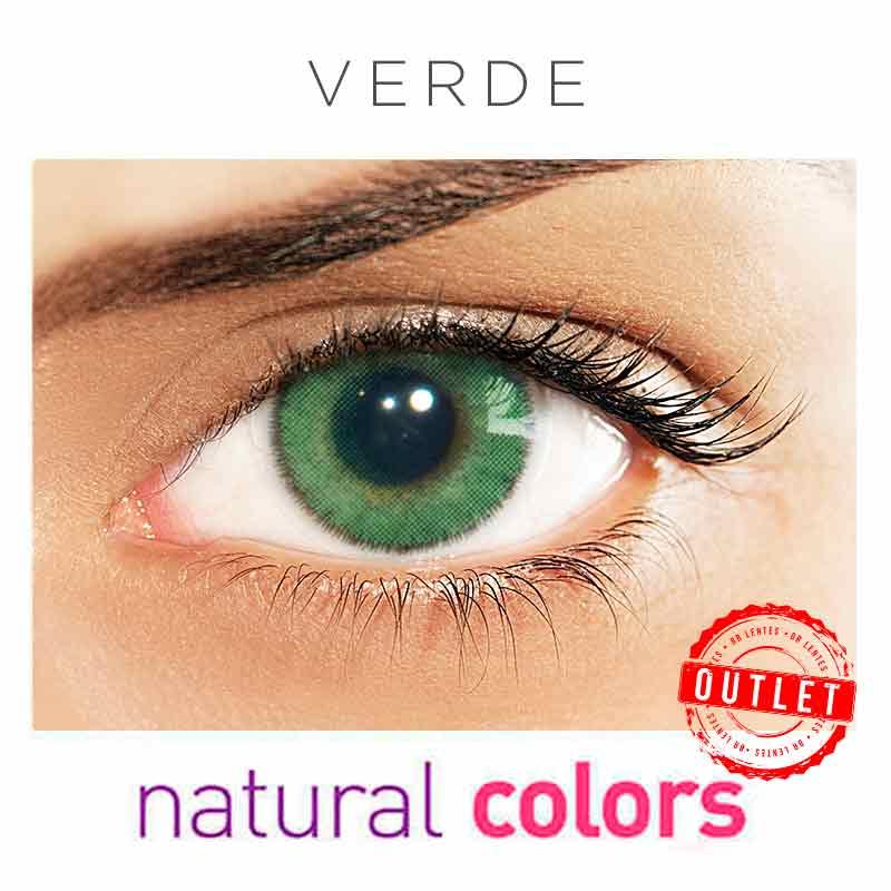 Lentes de Contato Solótica Natural Colors Verde (Com Grau | 01 unidade) -Outlet