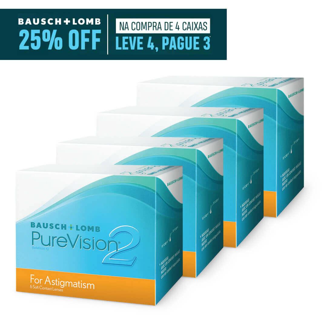 Purevision2 Toric - Leve 4, pague 3