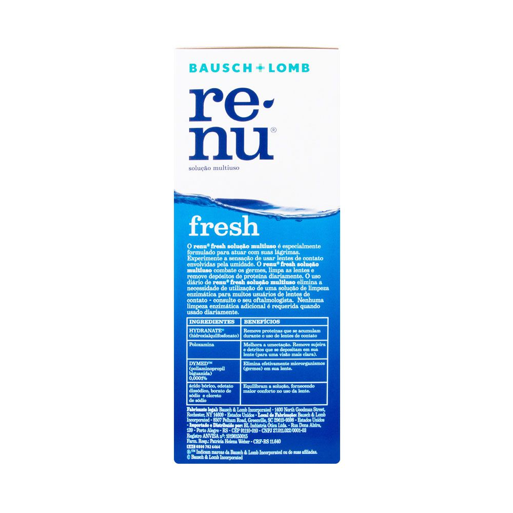 renu fresh PACK ON