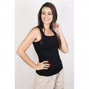 Blusa Feminina Cavada Básica Decote Quadrado