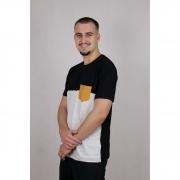 Camisa Masculina Manga Curta Bolso