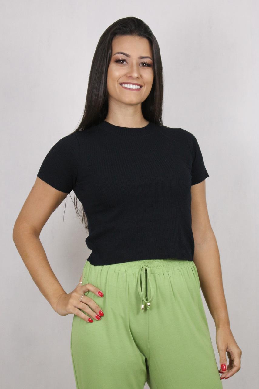 Blusa Feminina Cropped
