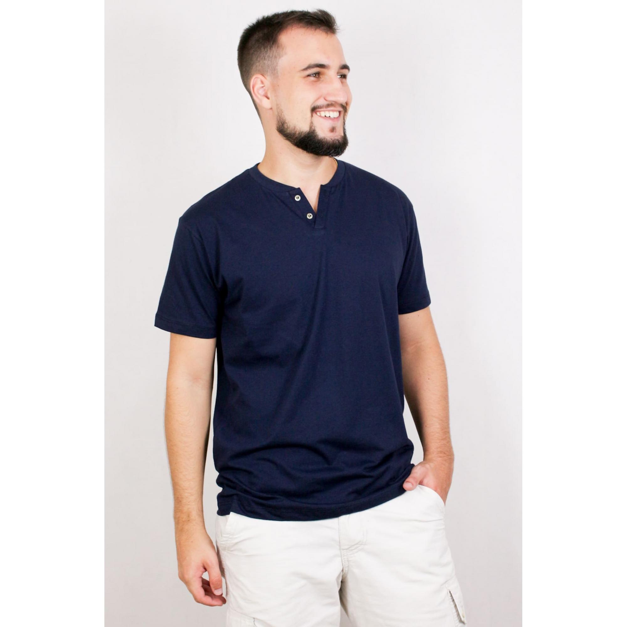 Camisa Masculina com 2 Botões