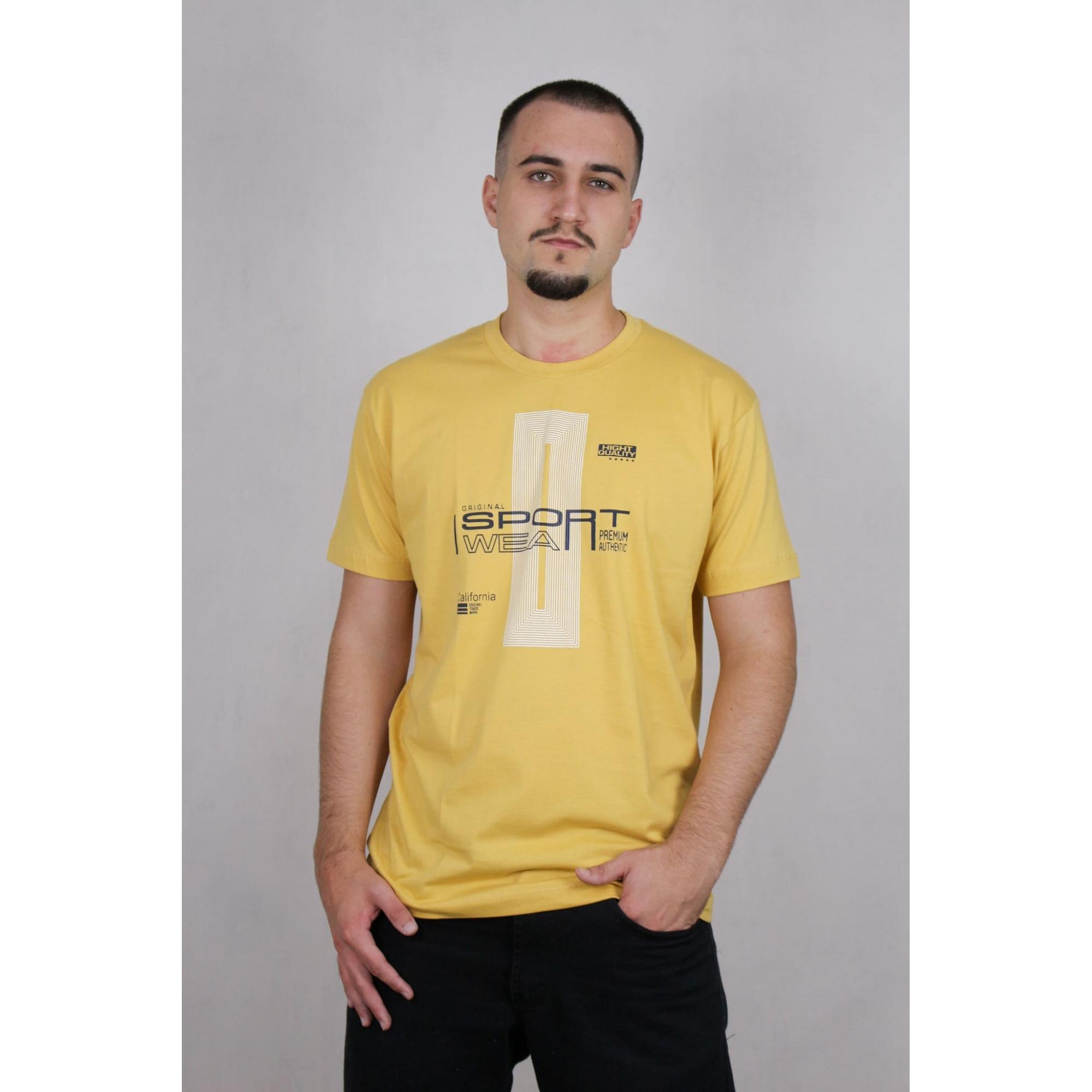 Camisa Masculina Estampada