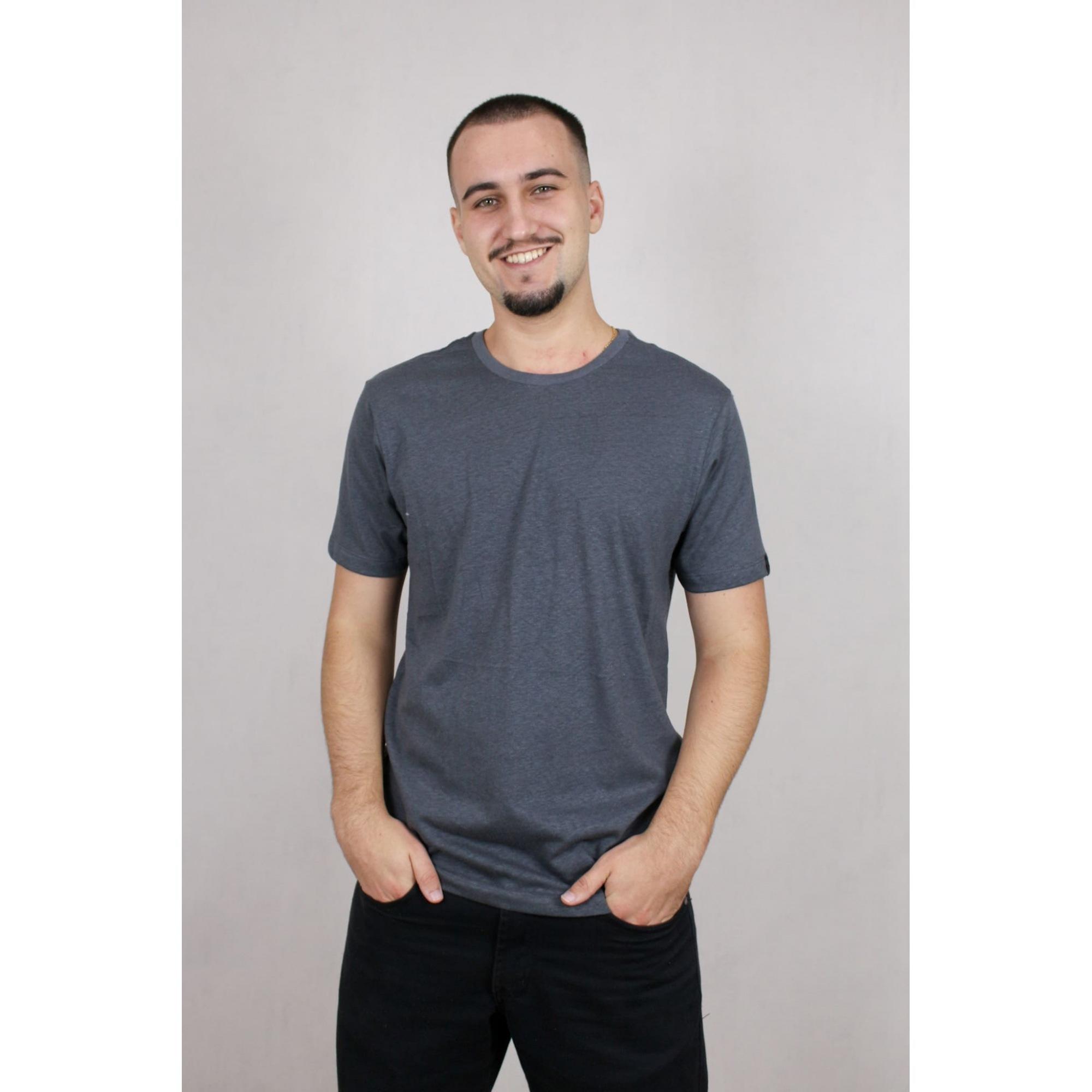 Camisa Masculina Manga Curta